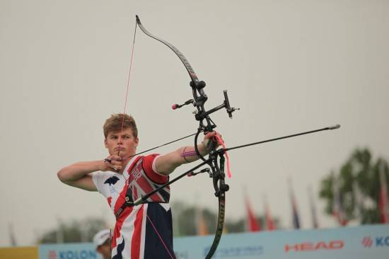 Tom Howse winning Silver in Korea!