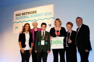 Well deserved award for Active Gloucestershire!