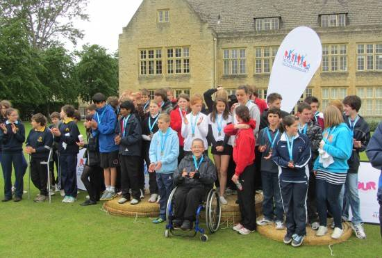 We organise the fully Inclusive school games.