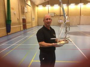 Andy Cramb and Christine Atherton both scored 547 winning the recurve trophy.