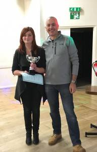 Paige Tucker won the Junior Clubman of the Year.