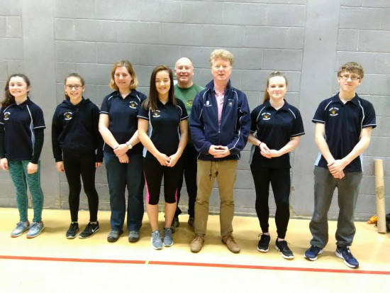 A few of our archers that competed in the County Indoor Championships.