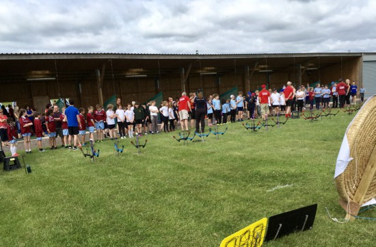 Another big jump in archery school games participation.