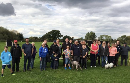 Some of the walkers that took part, great afternoon.