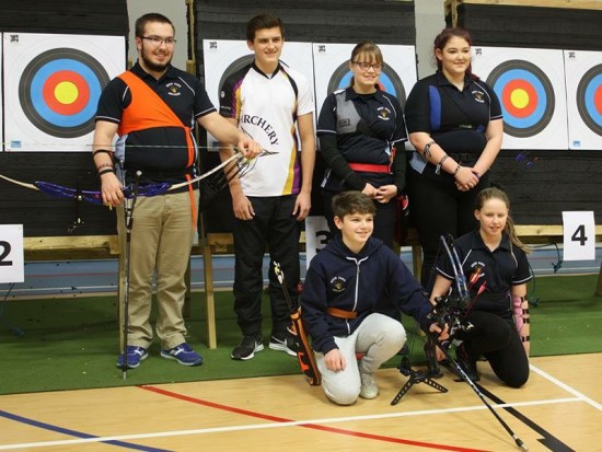 Some members of the team that represented us in the Castle League.