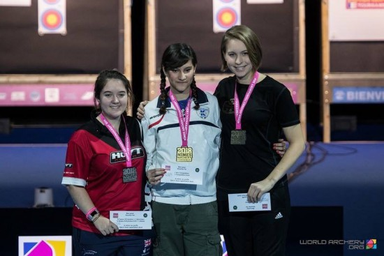 Lucy Mason finished second on a shoot off.
