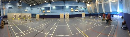 Dual Range for Primary School Games events.