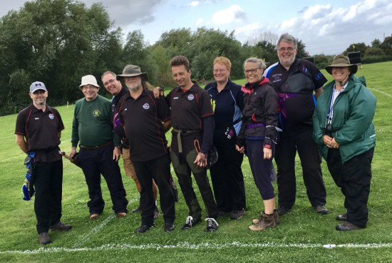 Well done to both teams, great shooting on a very difficult day!
